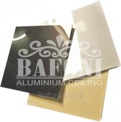 Плита кассетная алюминиевая 600*600*0,75 мм