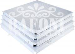 Плита кассетная алюминиевая 600*600*0,75мм
