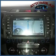 Kia Sportage 2010-2015 üçün GPS DVD-monitor. GPS