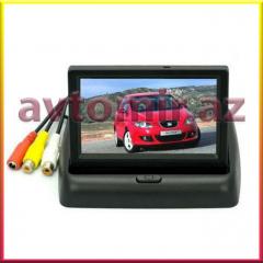 Arxa görüntusü kamera üçün monitor. The monitor