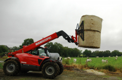 The strengthened capture for bales