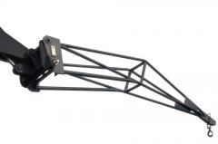 Lengthening crane beam