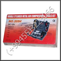 Automobile set with the compressor. Avtomobil