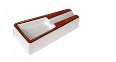 Ashtray cigar ceramic 9061