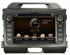 KİA SPORTAGE 2010-2014 üçün DVD-monitor. The DVD