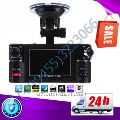 2 kameral ı videoreqistrator F30. The video