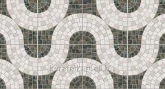 The tile is ceramic, the Gardenlife Gri model