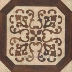 Tile floor Alice Flower, size 50x50