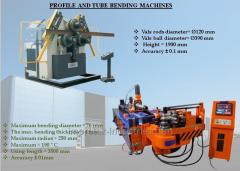 PROFILE AND TUBE BENDING MACHINES