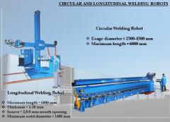 CIRCULAR AND LONGITUDINAL WELDING ROBOTS