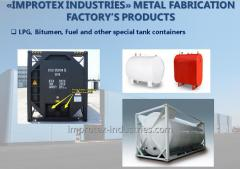 LPG, Bitumen, Fuel and other special tank containers
