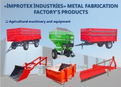 Agricultural machinery and equipmen