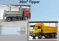 Tipper 20m ³