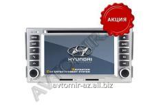 Hyundai Santafe 2006-2012 üçün DVD-monitor. The