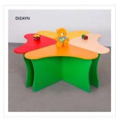 Стол детский Dizayn Usaq masası ürək