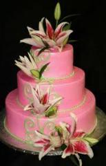 Торты свадебные, Счастье