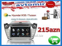 Hyundai IX35/Tucson üçün DVD-monitor. The DVD