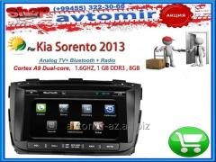 Kia Sorento 2013 üçün DVD-monitor. The DVD monitor