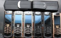 Vertu Signature S design A klass