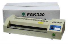 The package FGK 320 laminator in Bak