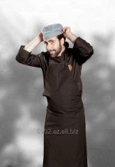 Uniform for employees of restaurant 0015
