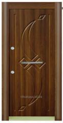 Дверь входная модель Орех