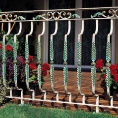 Балконные перила кованые