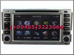 Hyundai Santafe 2008 üçün DVD-monitor. The DVD