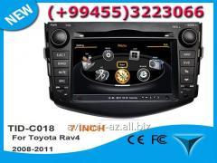Toyota Rav4 2009-2012 üçün DVD-monitor. The DVD
