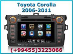 Toyota Corolla 2006-2011 üçün DVD-monitor. The DVD