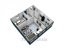 Офисно - бытовой контейнер 24-х футовый офисный