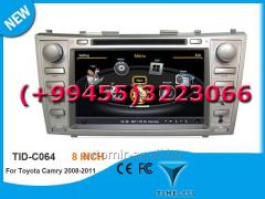 Toyota Camry 2008-2011 üçün DVD-monitor. The DVD