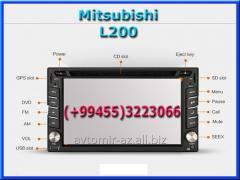 Mitsubishi L200 üçün DVD-monitor. The DVD monitor