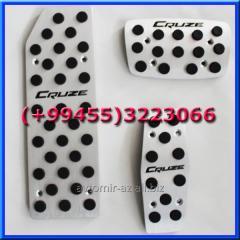 Chevrolet Cruze üçün pedal örtükləri. Napedalniki