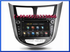 Hyundai Accent 2010-2014 ucun DVD-monitor, the DVD