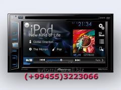 PIONEER AVH-X1750DVD monitoru, PIONEER