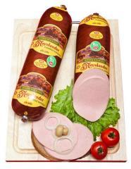 Boiled sausage goods