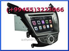 Hyundai Elantra 2011 ucun DVD-monitor, the DVD