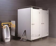 Система перегородки туалета ламината Компакта (