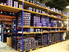 Металлические стеллажи складские ( Storage racks)