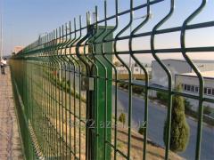 Металлический забор из сварной сетки ( Metal fence