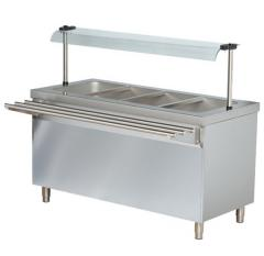 DOUBLE BOILER-FOOD WARMER WITH THE THERMAL CASE