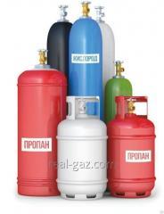 سیلندر برای ذخیره سازی گاز