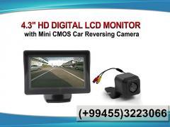 Monitor + kamera, Monitor + chamber.