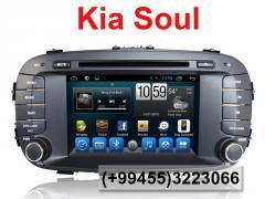 Kia Soul üçün DVD-monitor, the DVD monitor for Kia
