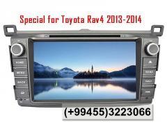 Toyota Rav4 2013 üçün DVD-monitor, the DVD monitor