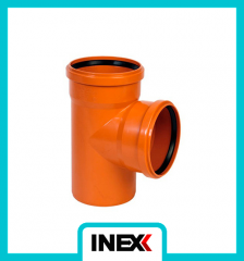Sewer Fittings (PVC) Tee