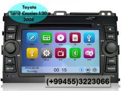 Toyota Land Crusier 120 2008 üçün DVD-monitor, the