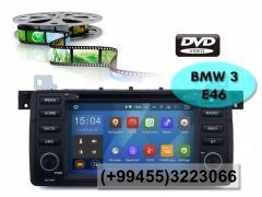 BMW E46 üçün DVD-monitor, the DVD monitor for BMW