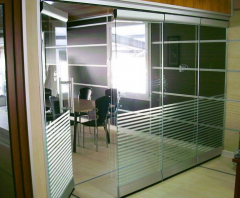 Depot parkig partitions - Suspended system with